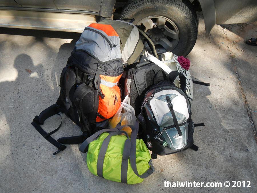 Наш багаж на Ко Чанге