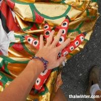 Лапа Дракона, Китайский Новый Год в Таиланде