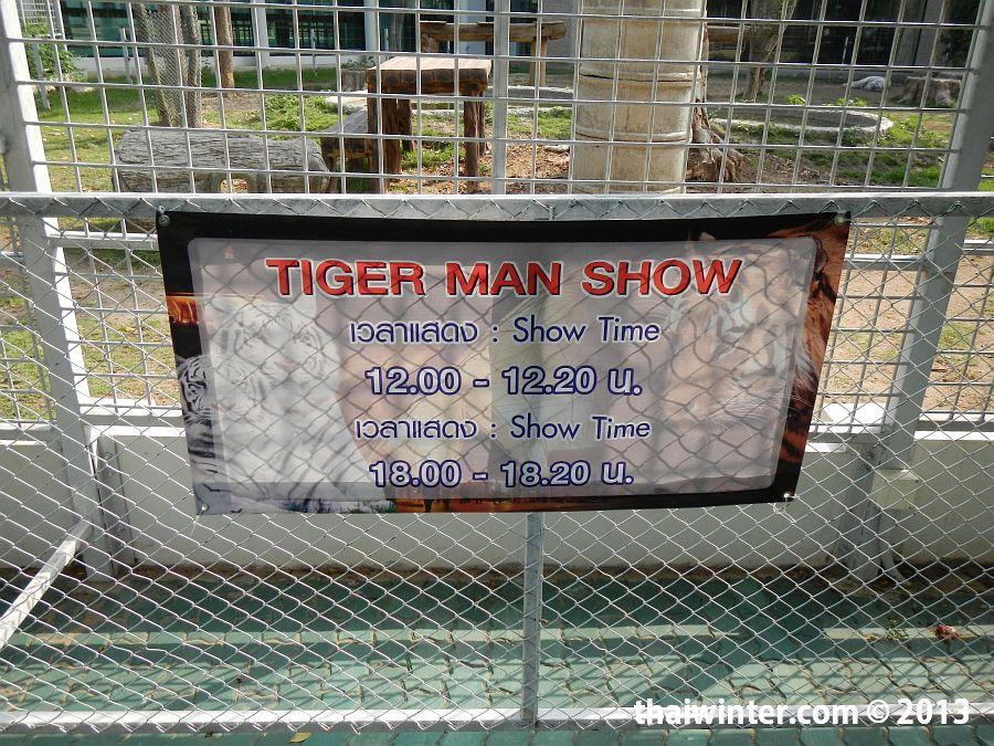 Расписание Tiger Show