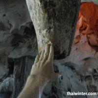 Сталактит в Muang On Cave