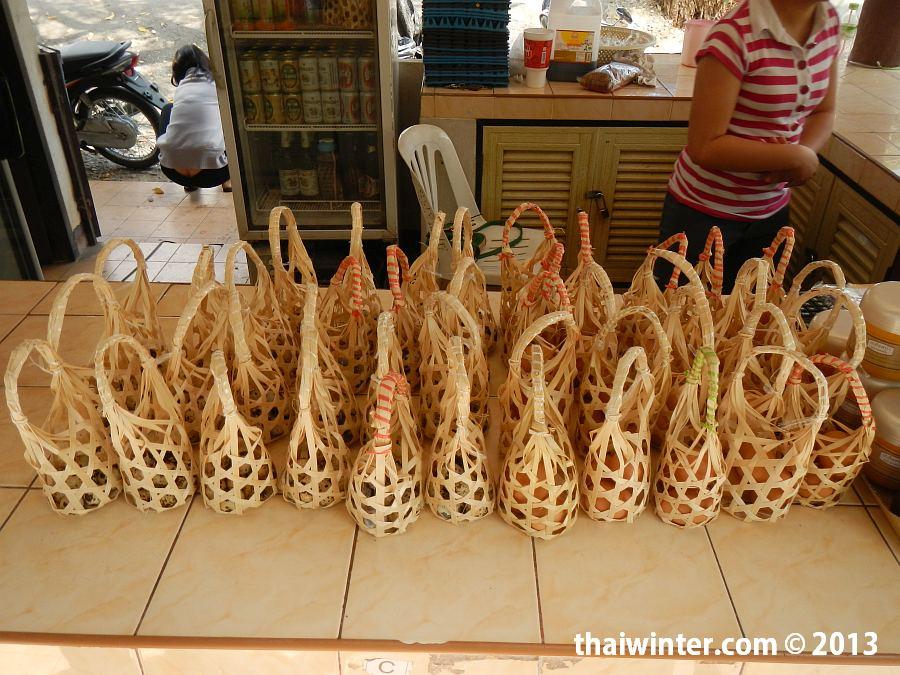 Бамбуковые корзиночки для варки яиц
