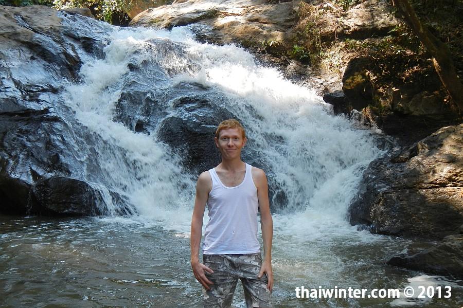 Мы на водопаде Mae Sa