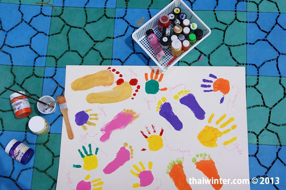 Творчетсво детей Kids Planet - тут и ножки Василисы есть!