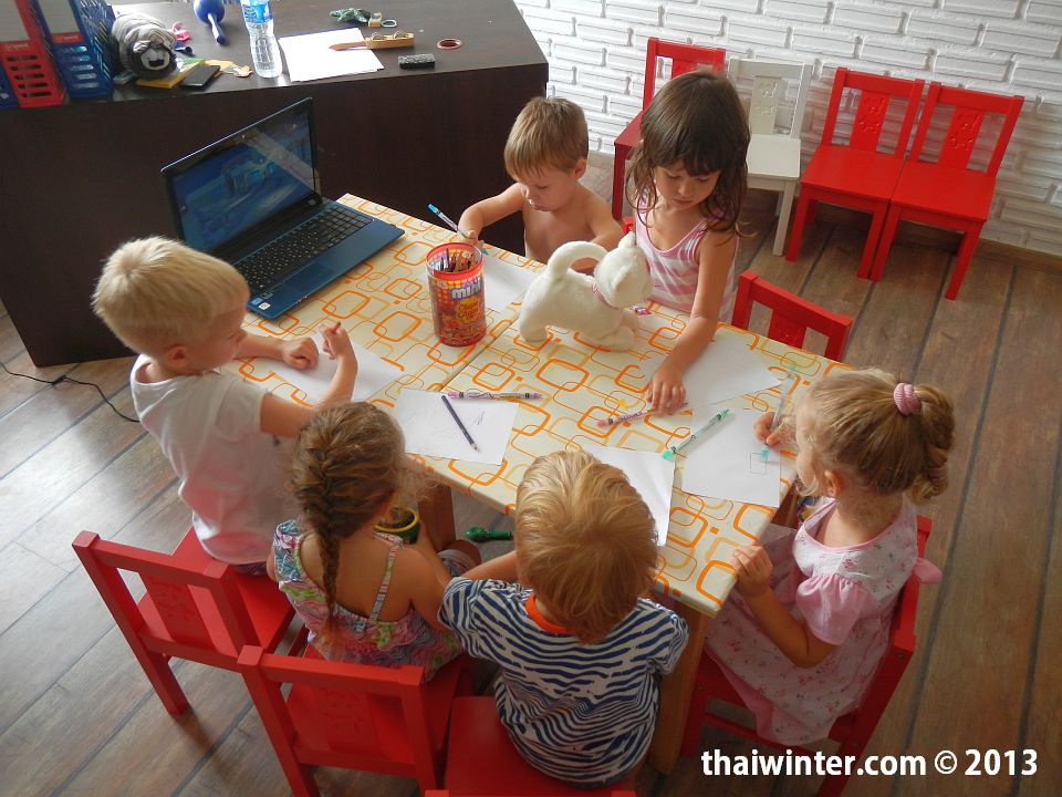 Занятия в детском центре Kids Planet