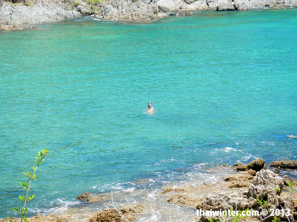 На пляже Yanui острова Пхукет