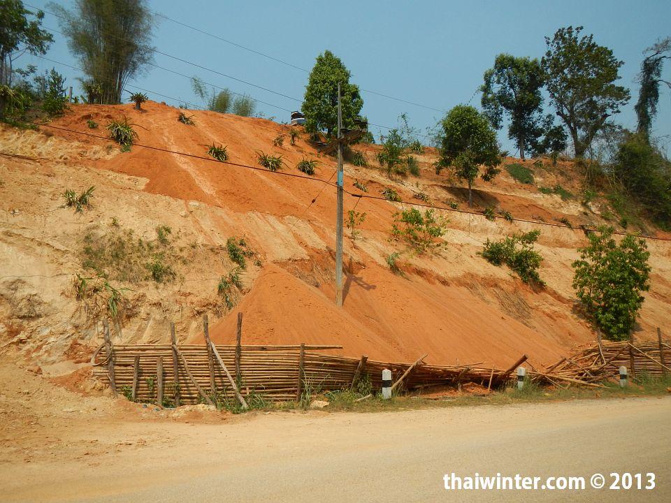 По дороге на Khun Kon Waterfal