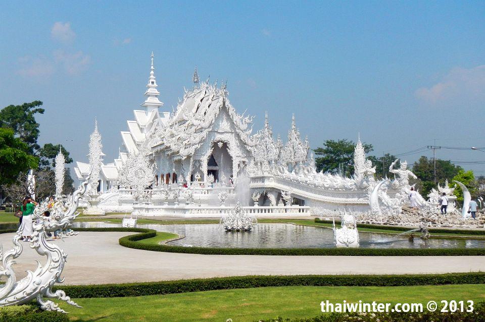 Wat Rong Khun или белая сказка наяву