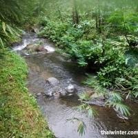 Водопад Мелантин - речка