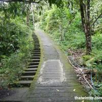 Водопад Секумпул - дорожка для пешеходов и езды на байках