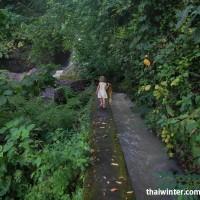 Водопад Синг-Синг - узкая тропинка вдоль канала
