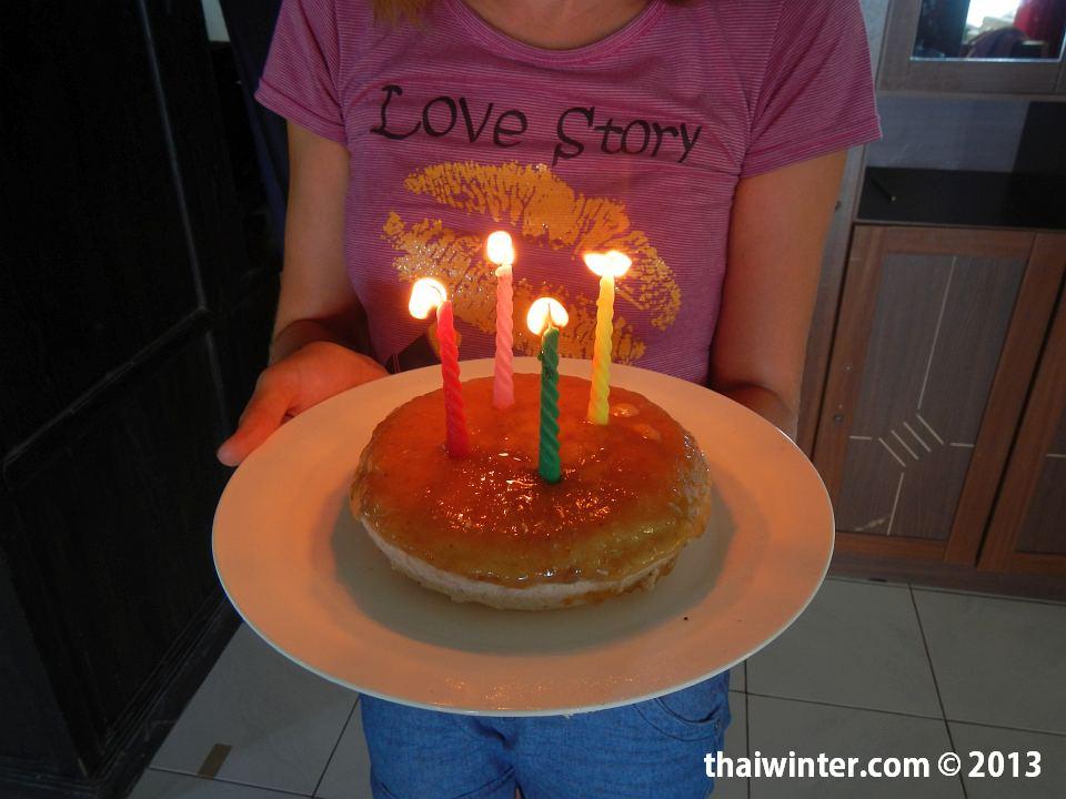 Сыроедный торт из кешью, меда, бананов для Василисы