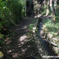 Дорога до водопада Yeh Mempeh на байке