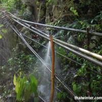 Трубопровод от водопада