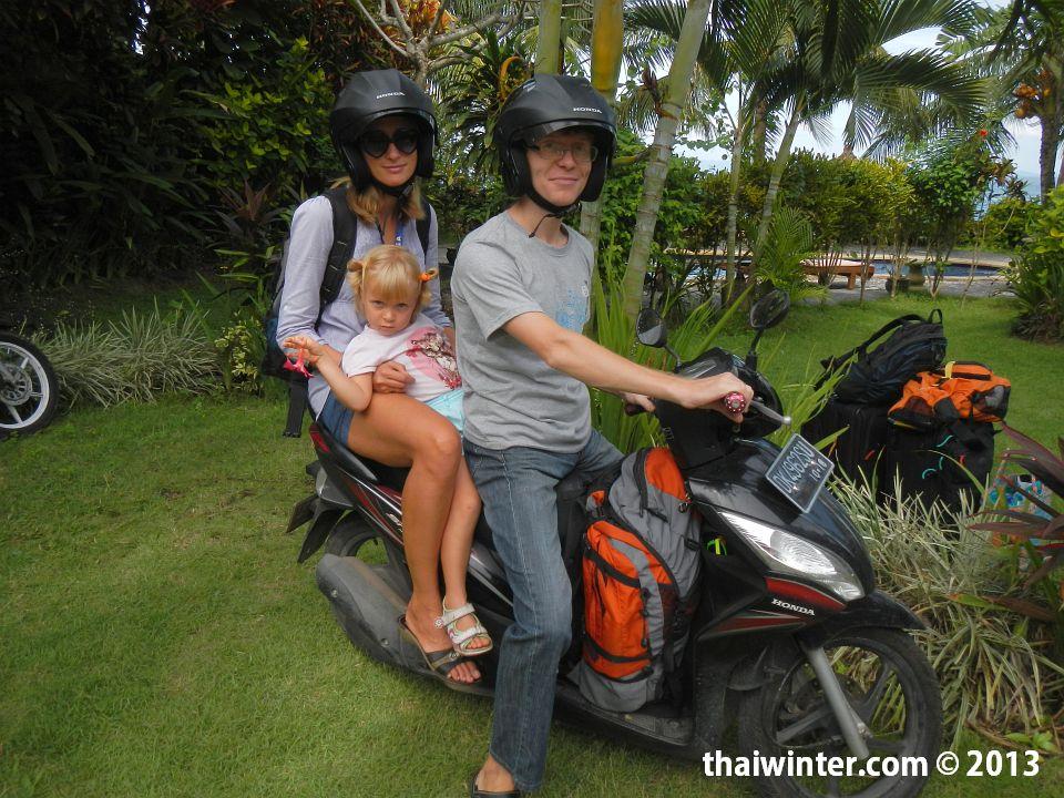 Основной транспорт в наших путешествиях по Азии - байк | Зима в Таиланде