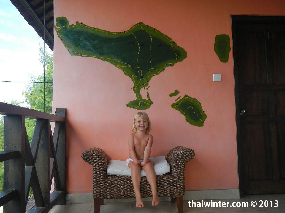 Василиса на Бали | Зима в Таиланде