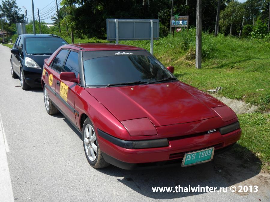 Mazda 323 от Taxi Service Rawai
