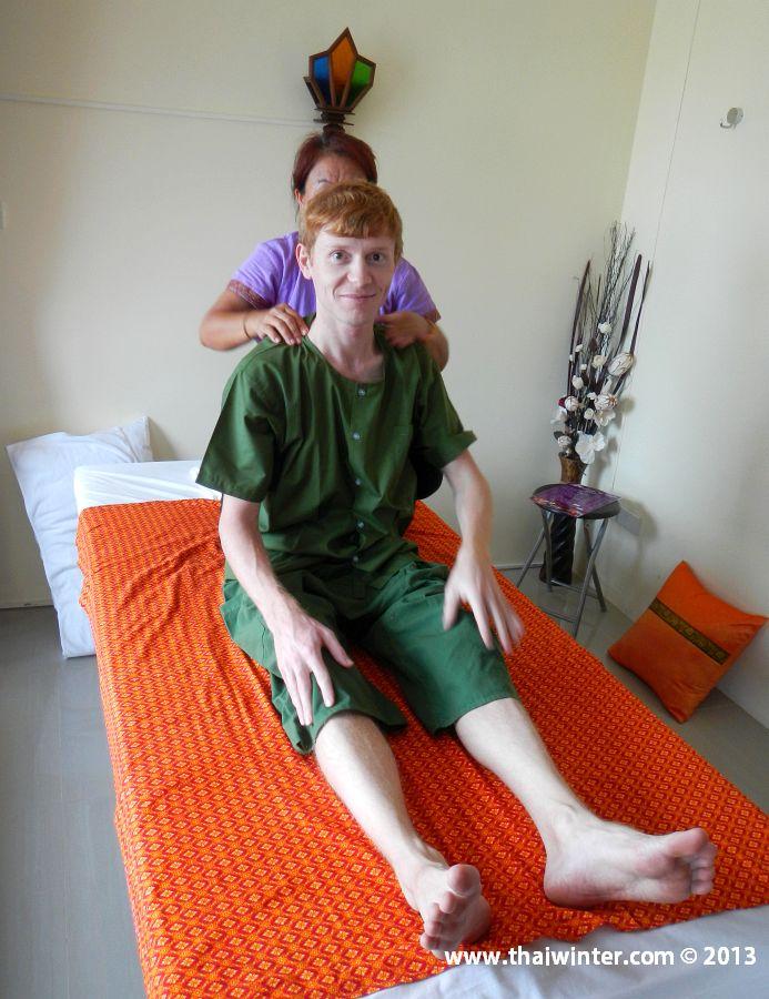 Я на сеансе традиционного тайского массажа | Зима в Таиланде