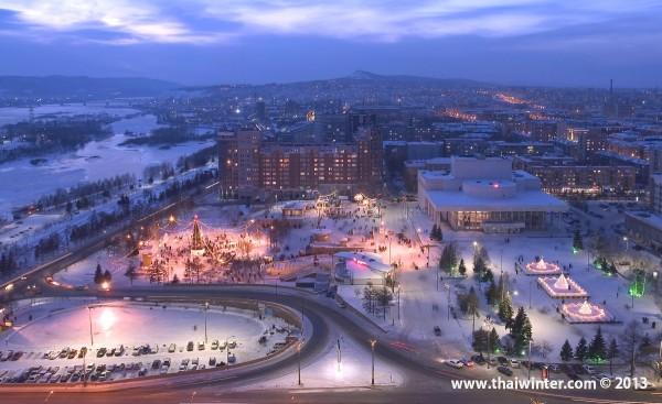 Новый Год в Красноярске