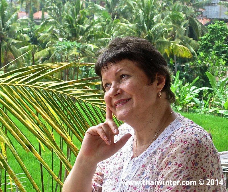 Галина Редькина - живет и работает на острове Бали