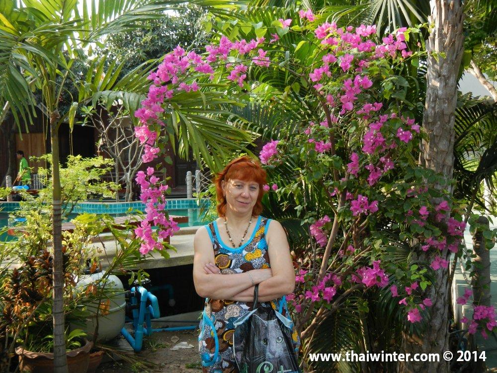 Моя мама первый раз в Таиланде