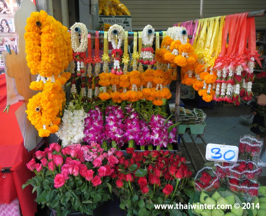 Живые цветы в Таиланде