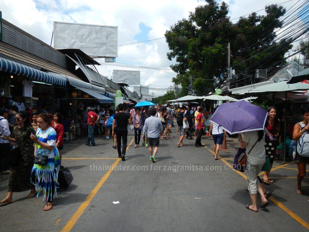 Рынок Чатучак в Бангкоке
