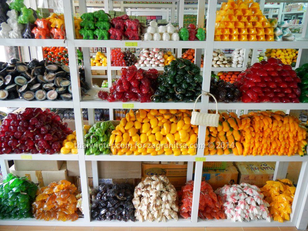 Тайские натуральные товары в Бангкоке | Зима в Таиланде