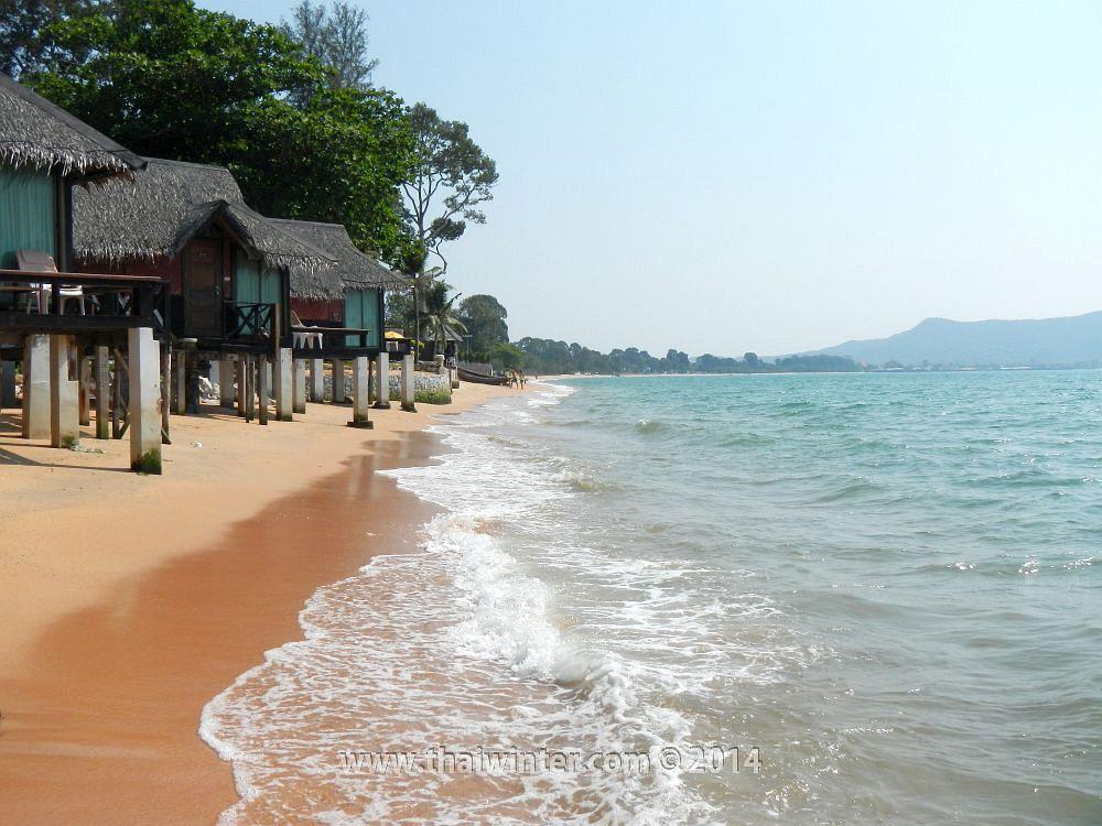 Пляж Sunset Beach в Паттайе