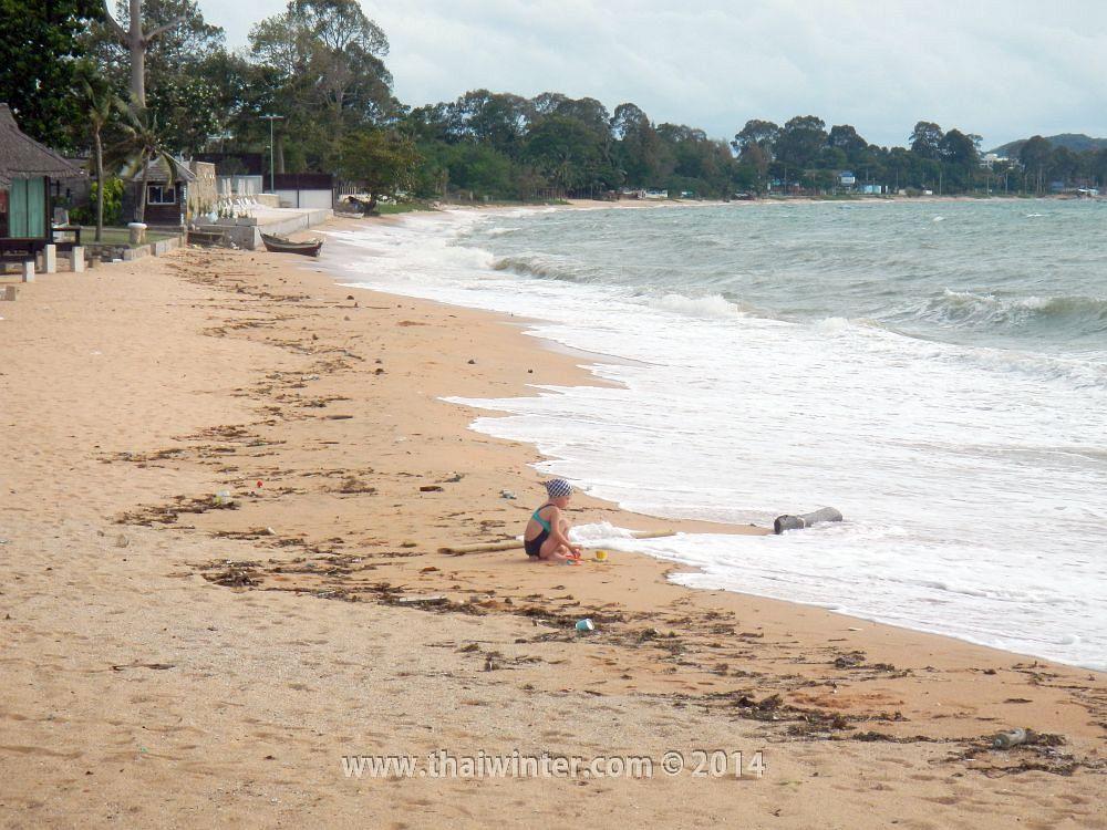 Пляж Sunset Beach в Паттайе в сентябре