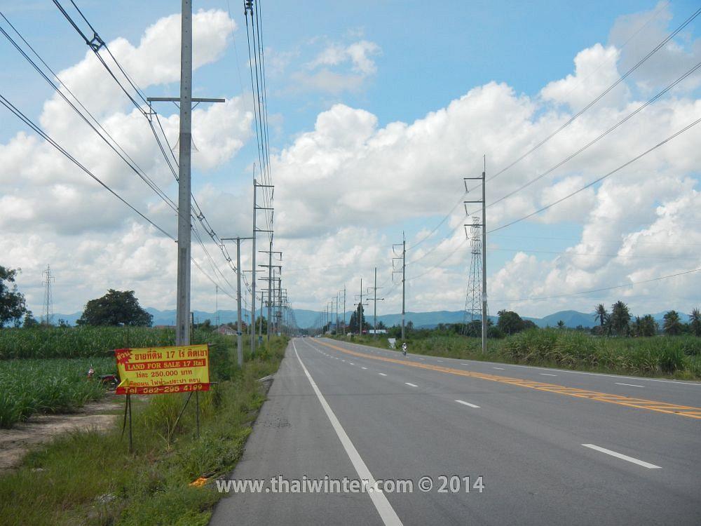 Трасса по 112 soi в Хуахине