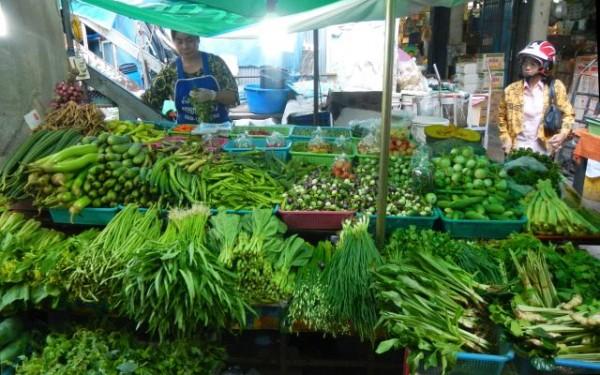 О буйном разнообразии овощей и зелени в Таиланде!