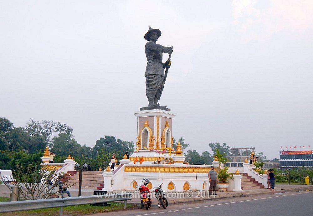 Визаран из Таиланда в Лаос