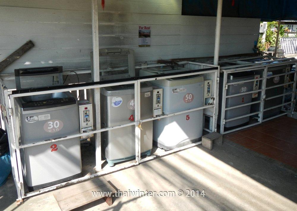 Старые стиральные машинки в Таиланде