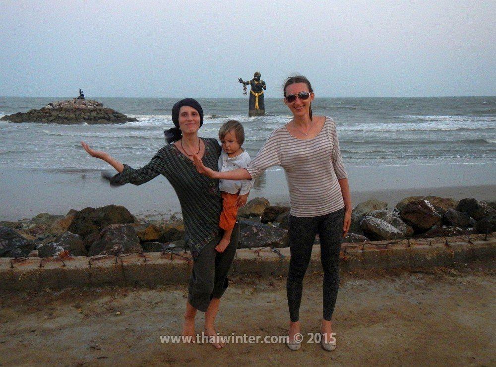 Автопутешествие в Пхетчабури из Хуахина, Puk Tien Beach