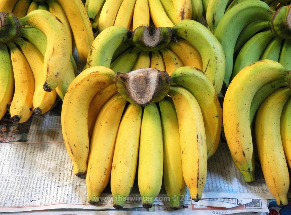 Бананы в Таиланде