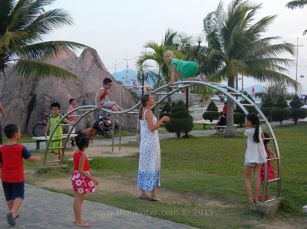 Празднование Первомая во Вьетнаме в Нячанге