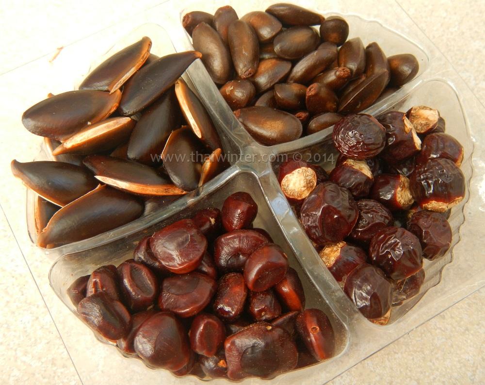 Косточки Вьетнамских фруктов - угадайте, каких?