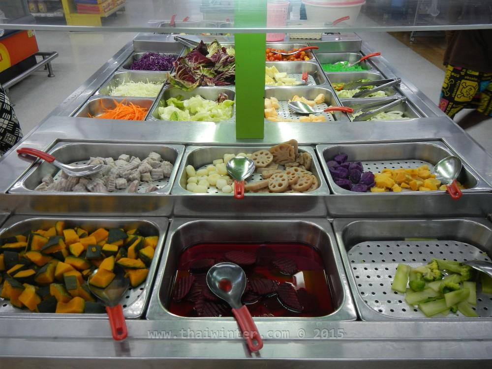 Наши любимые салат бары в тайском гипермаркете TESCO Lotus | Чем накормить ребенка в Таиланде без последствий