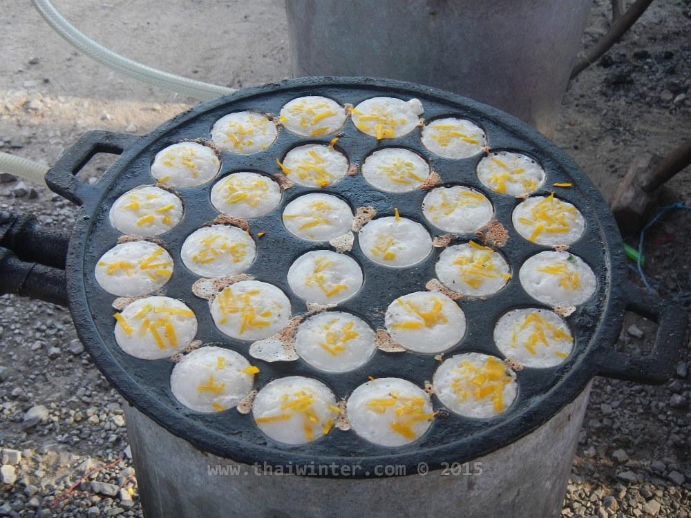 Любимые Лешины сладости в Таиланде - khanom krok