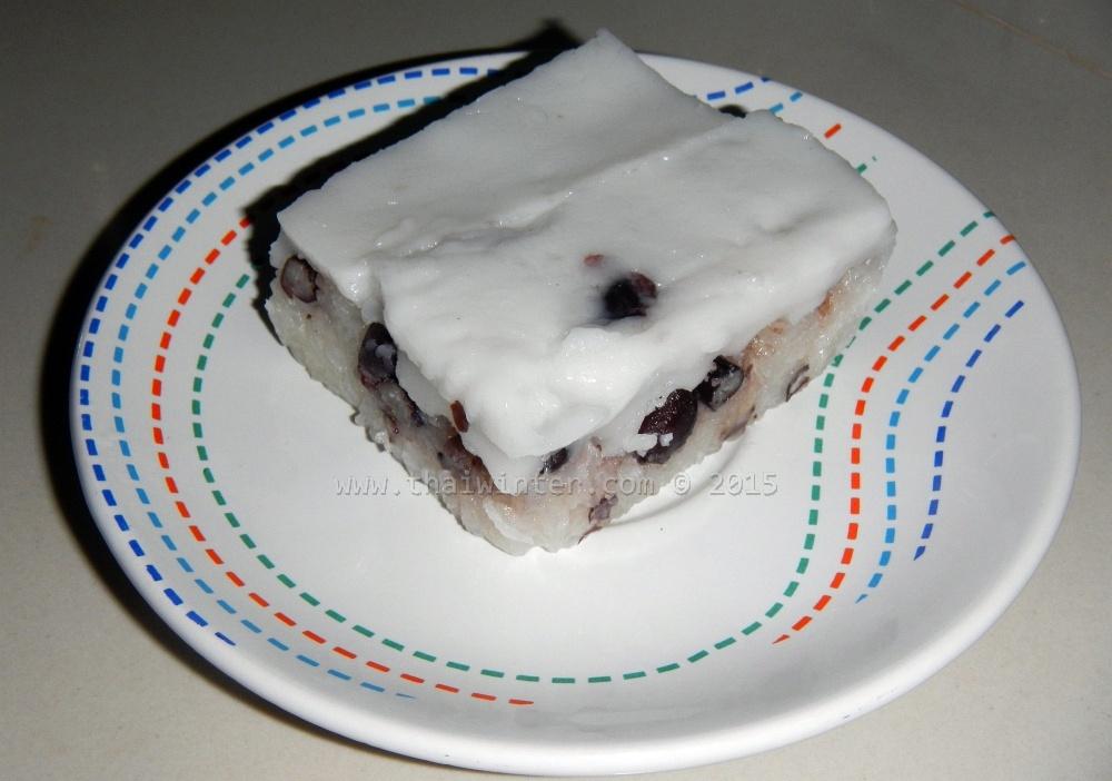 Тайские сладости - khao niao ta