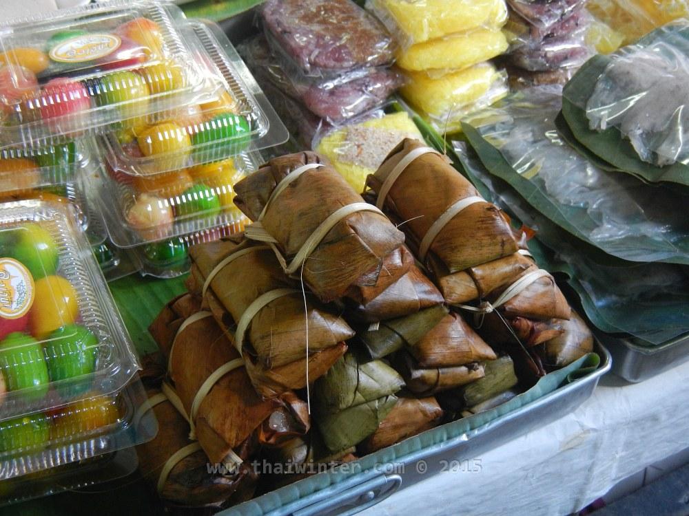 Тайские сладости - khao tom mat