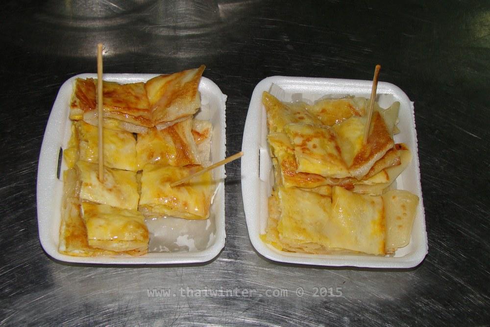 Тайские сладости - банана-блинчик