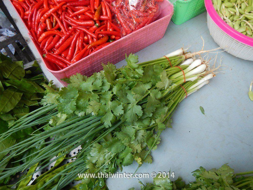Тайский набор лук и кинза