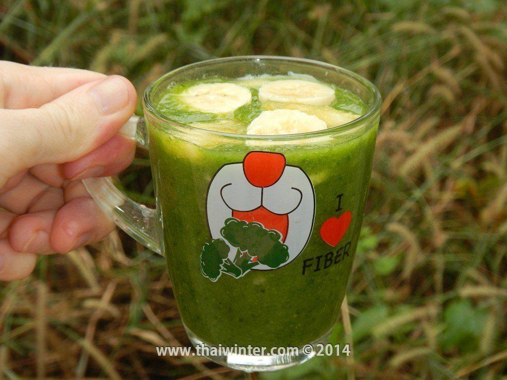 Зеленый смузи в Таиланде
