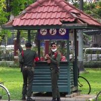 Полиция в Люмпини парке