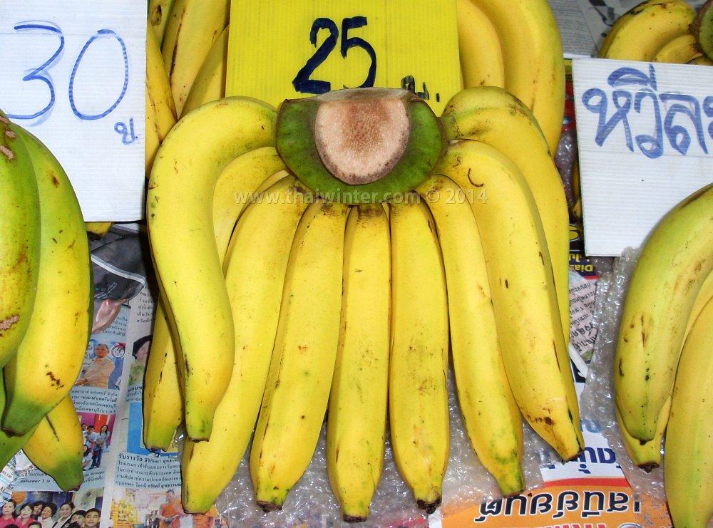 длинные тайские бананы