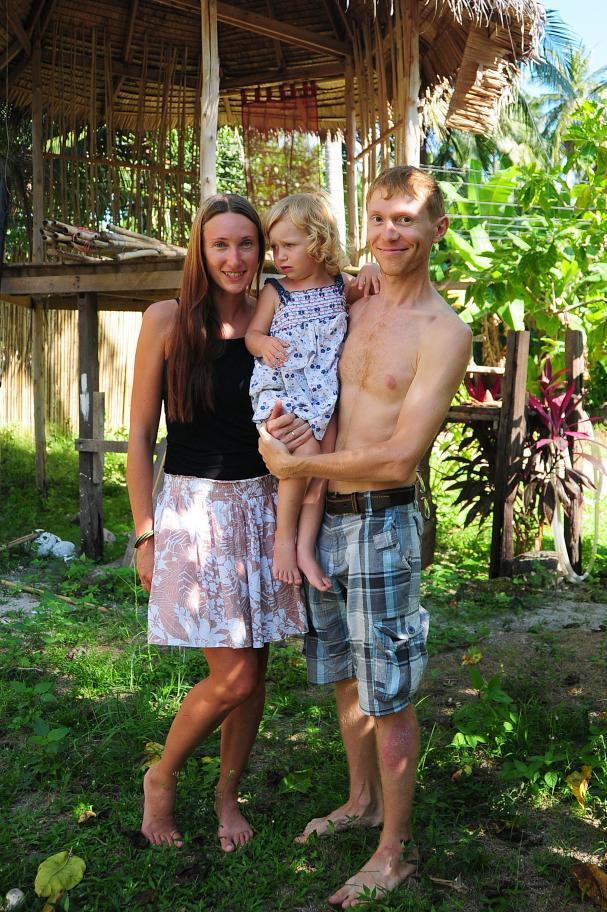 Наша семья на Самуи, 2012 г.