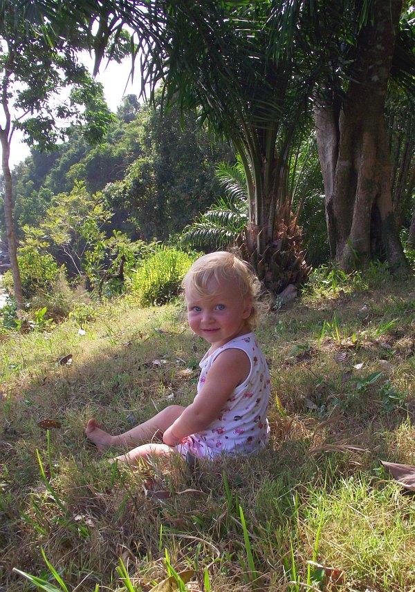 Василиса на Краби | Зима в Таиланде