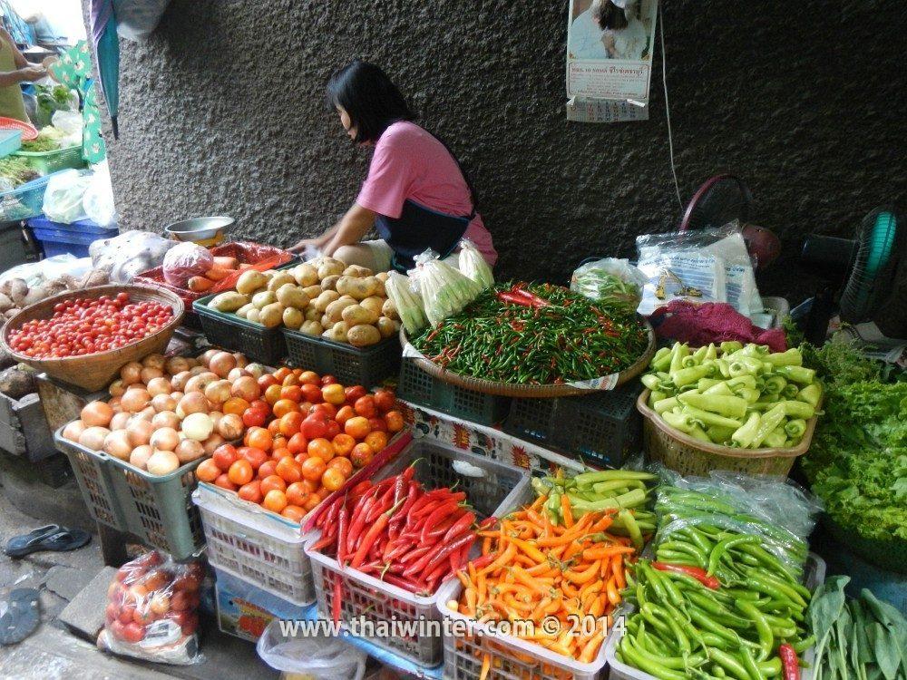 Разнообразие перца чили в Таиланде