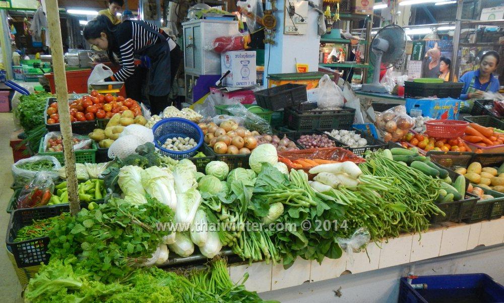 Овощи в Таиланде